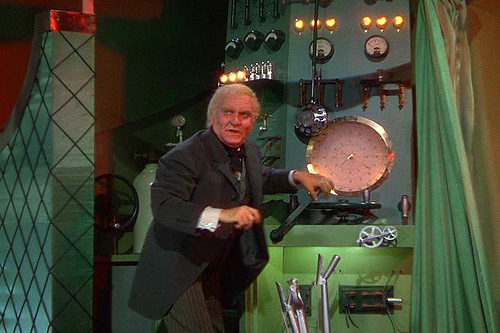 The Man Behind the Curtain
