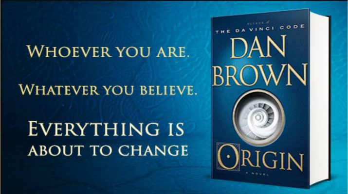 cover of Dan Brown's book, Origin.