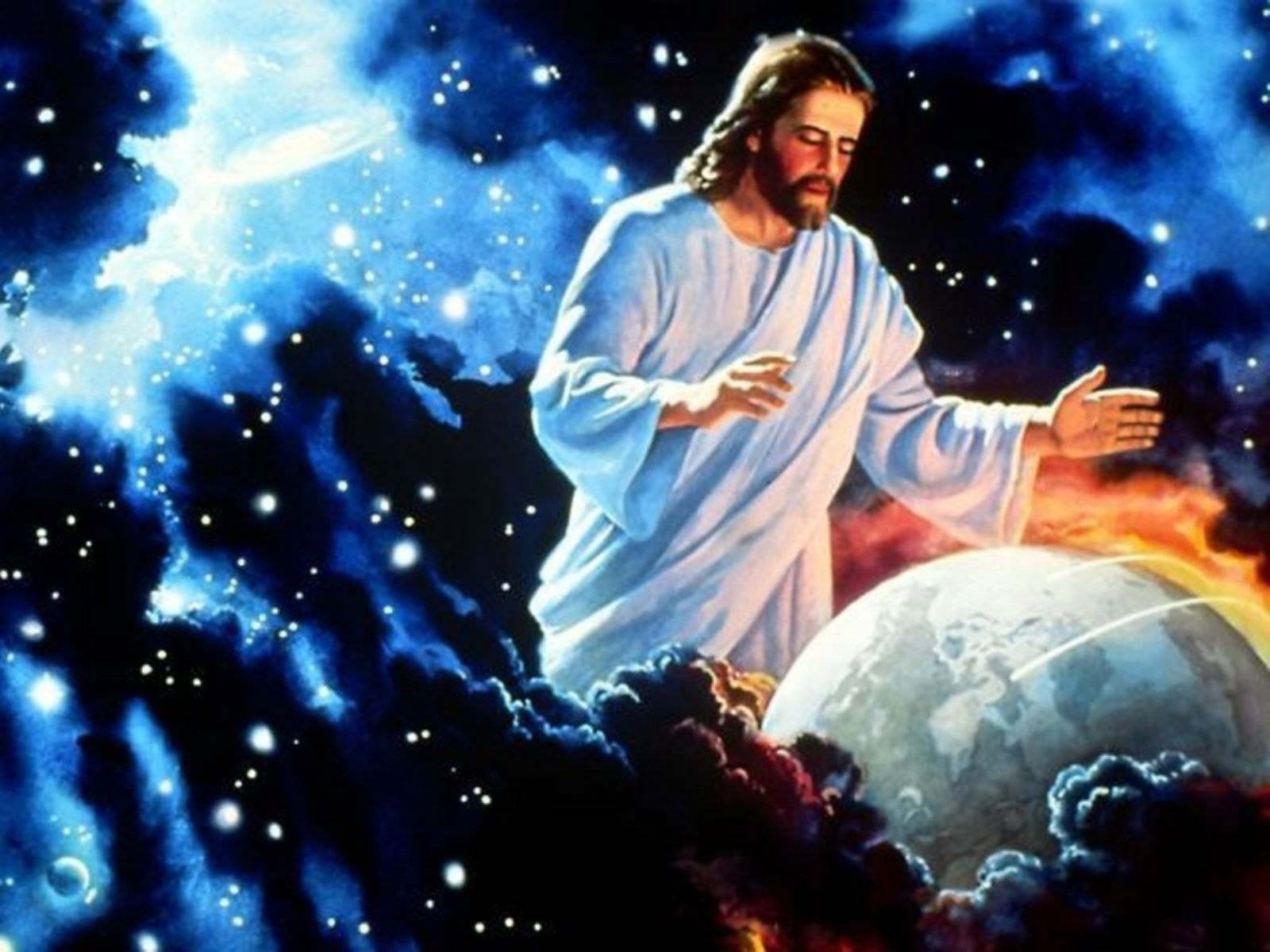 Jesus at work in Creation