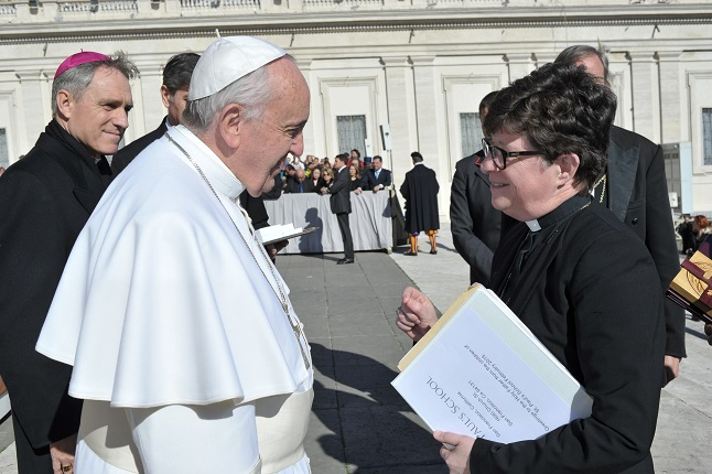 ELCA Presiding Bishop Eaton meets Pope Francis