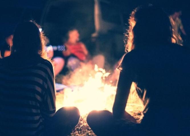 Commuinion by Campfire