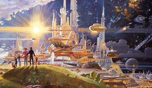 the Utopian future