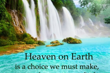 Heaven on Earth: Easter 6C