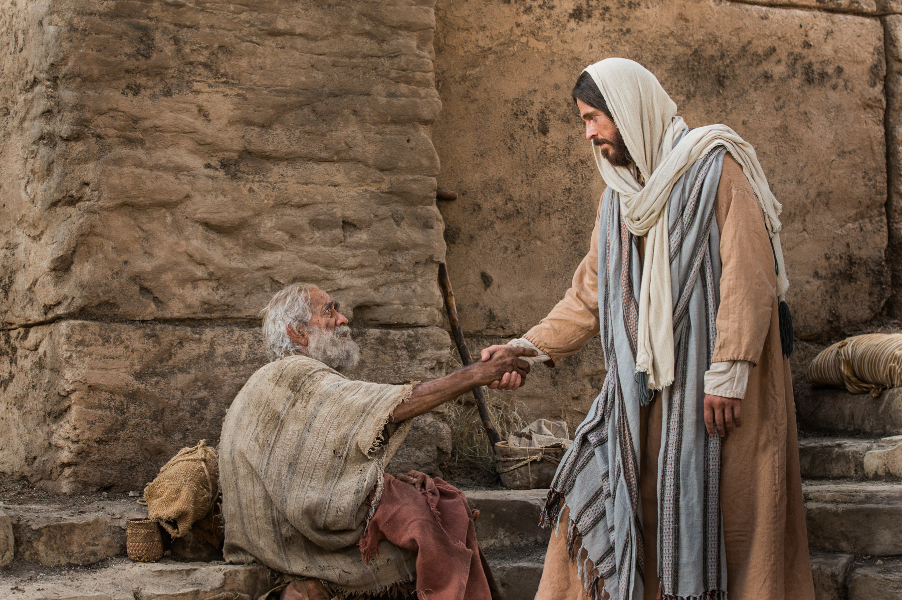 Jesus Heals A Lame Man On The Sabbath