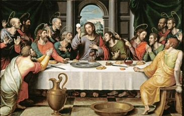 The Lord's Supper by Juan Juanes