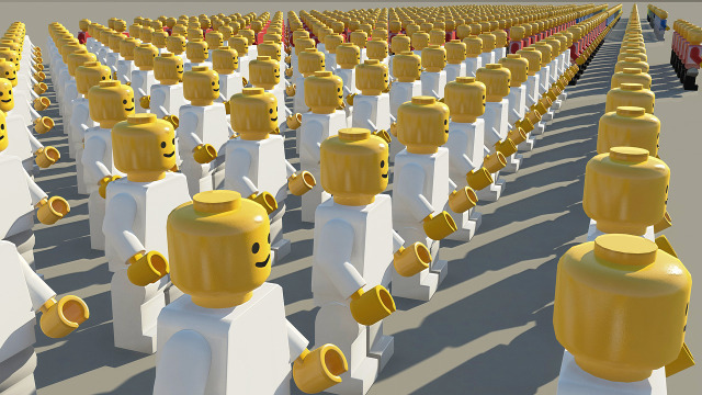 plastic lego people