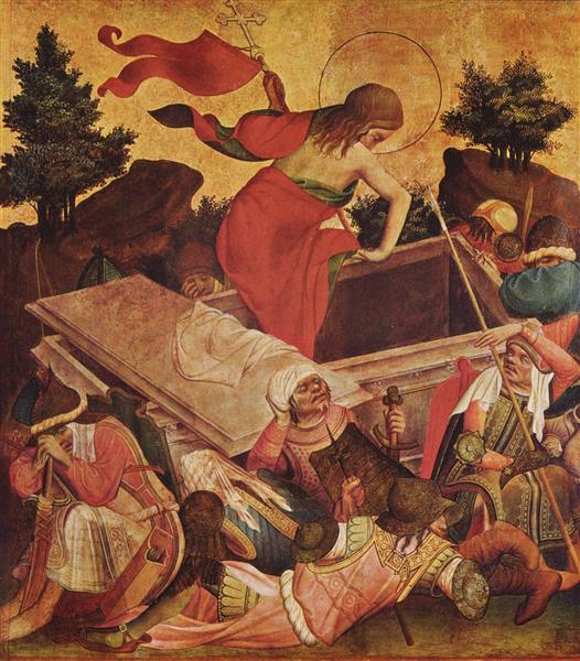 Meister Franke's Resurrection of Jesus