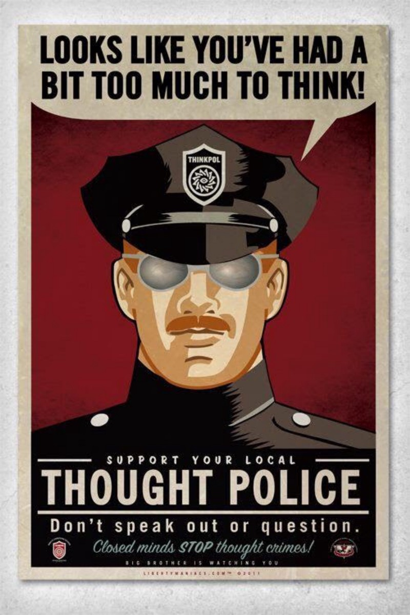Newspeak- Thought Police