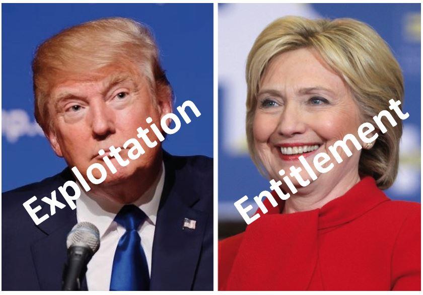 Exploitation vs Entitlement